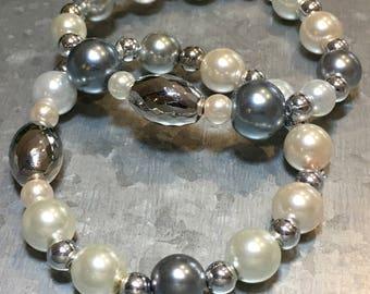 Mixed Pearl Bracelet-each