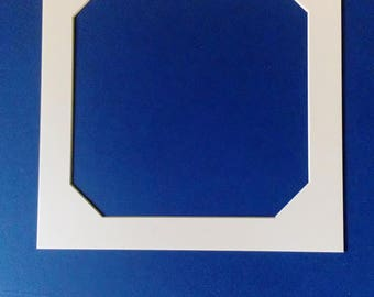"Photo Mount - photo frame - picture mount - art frames - 9""x 9"" mount - square frame - wall art - unique mount - photo mount - picture mount"