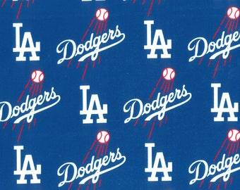 Los Angeles Dodgers Fabric by the Yard