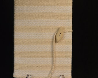 Handwoven Journal Cover
