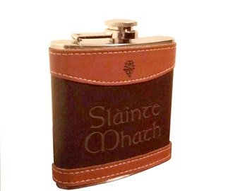 Outlander Slainte Mhath Flask