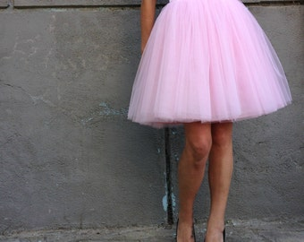 "Women Tulle Skirt, Tea length Tutu Skirt, Princess Skirt,  Wedding Skirt - – ""Choose to be me' / EXPRESS SHIPPING / MD 10025"