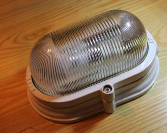 LACENT Cast Iron BULKHEAD Light - Fully restored