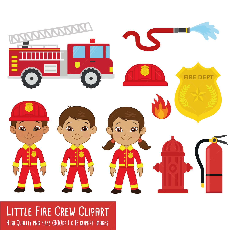 little fire crew clipart fireman clipart fire engine clipart