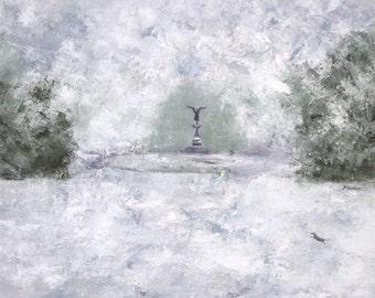 Bethesda Fountain, Central Park (large print)