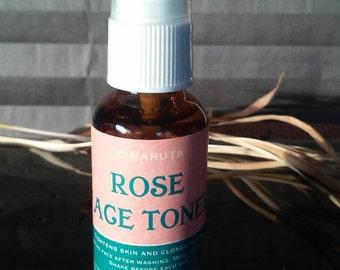 Organic Rose Face Toner 1 oz.