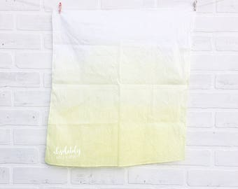 Ombré tea towel
