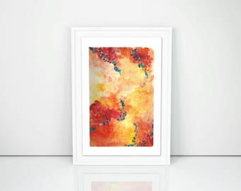 Sundancer Abstract Acrylic Print