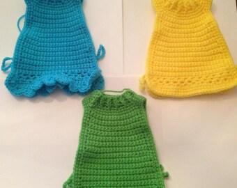 Crochet Hen Sweaters