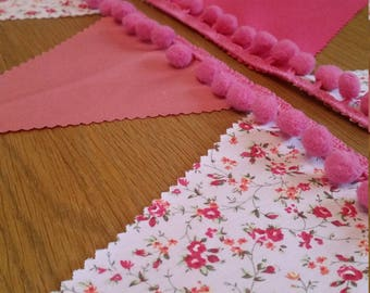 Pink Festival Bunting