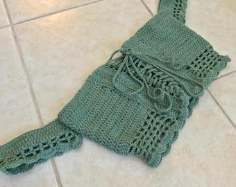 Offshoulder Crochet Crop Top