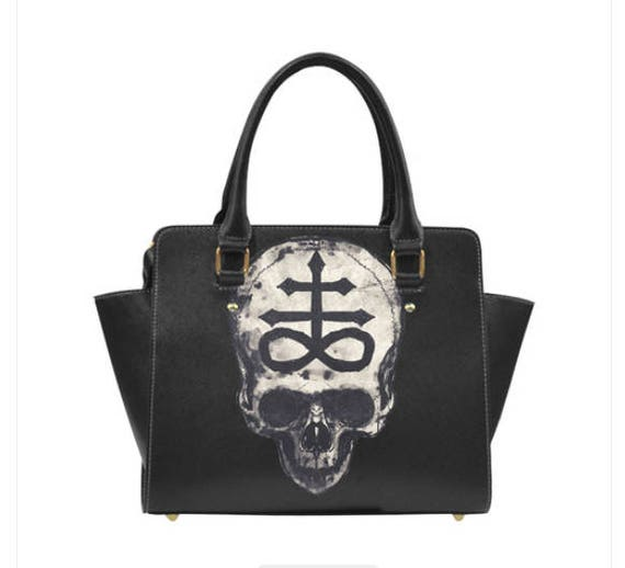 Lucifer Skull Shoulder Handbag