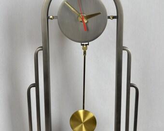 DIA Design Institute of America Mid Century Modern Mantle Clock