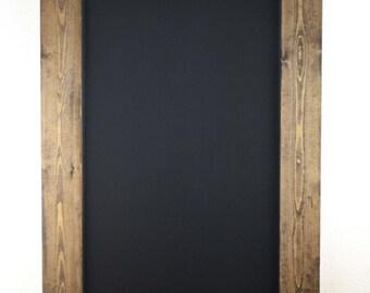 Set of Two Rustic Framed Chalkboards, Wedding Sign, Chalkboard Sign, Rustic Farmhouse, Farmhouse decor, farmhouse Sign, rustic wedding