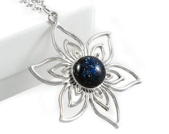 Flower Necklaces For Women - Jewelry Gift Ideas for Girlfriend - Necklaces for Wife for Christmas - Gift For Women Under 30