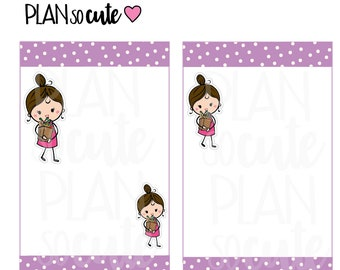 Grocery Shopping Girl, Buy more Food Planner Stickers -202