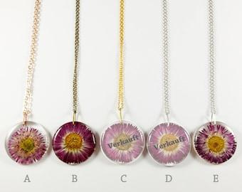 Flower Necklace Belli-daisies, flower decorations, necklace, unique