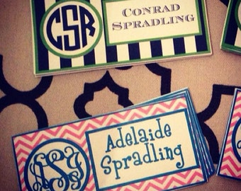 Folder labels, notebook labels, stickers, school stickers, gift stickers, book personalized school labels