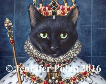 Rinka Queen Elizabeth I Greeting Card