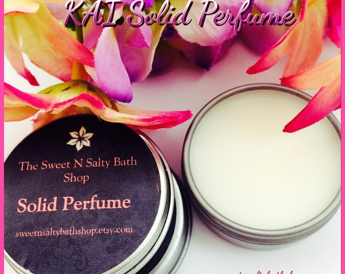 Kai Inspired Solid Perfume
