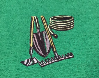 Custom Embroidered Personalized Lawn & Gardening Sweat Towel
