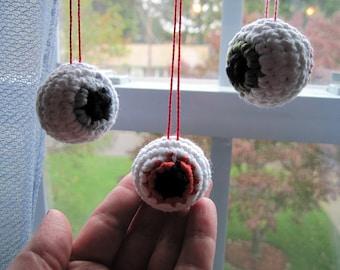 Zombie Eyeball Ornament
