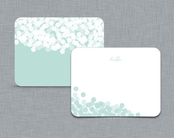 A Simple Hello. Personalized Stationery.