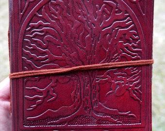 Notebook leather - Handmade