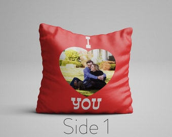 Custom Photo Pillow, Custom Picture Pillow, Photo On A Pillow, Customizable Pillows, Personalized Double Sided Pillow, Customized Pillows