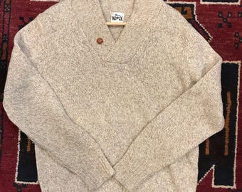 Classic Woolrich Sweater 1960's XL