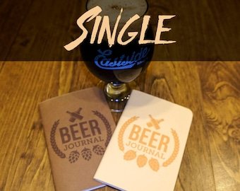 Beer Tasting Journal (Single)