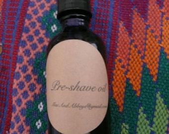 Organic Pre-Shave Oil