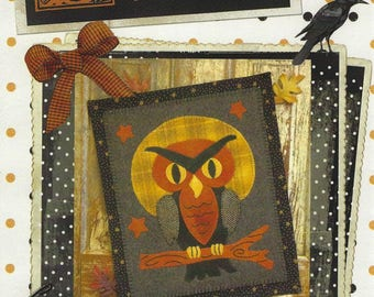 Hootie the Owl Applique Pattern
