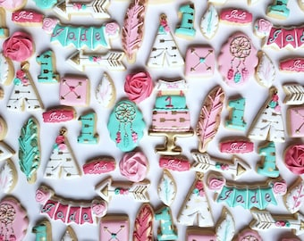 Boho Chic Cookies