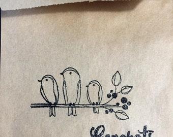 Handmade gift/gift card/treat bags