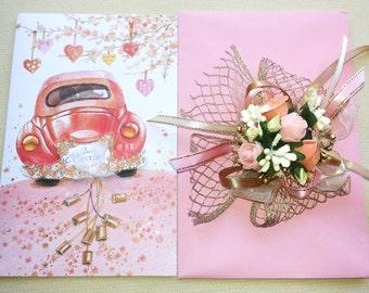 Elegant Gift Envelope for Weddings &Engagements