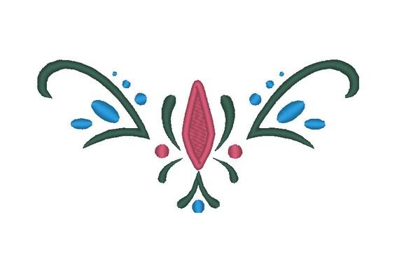 Anna Coronation Front Bodice Embroidery Design