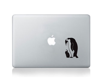 Penguins Vinyl Decal for Macbook (13/15) or Laptop