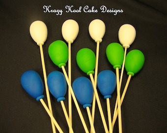 Balloon Cake Toppers