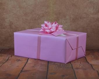 Premium Collection Gift Wrap Kit - Baby Pink