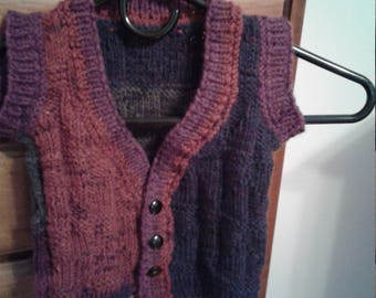 Toddler Multicolor Sweater Vest by Never Felt Better