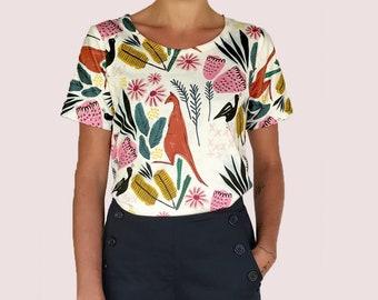Cowley Fields organic jersey t'shirt