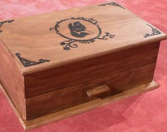 Alice in wonderland jewelry box / / jewelry box Alice in Wonderland