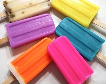 Popsicle Soap, Grapefruit Soap, Soap Party Favors, Pink Soap, Fruity Soap, Soap Gift, Fun Soap, Soap for Kids, Goats Milk Soap,