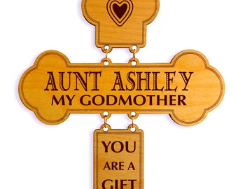 Personalized Mothers Day God Mother Gift - Gifts for Godmother - Mother's Day Gift from Goddaughter - Godson - Godchild
