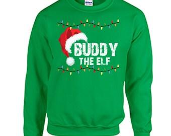 Tacky Christmas Sweatshirt Angry Elf Christmas Shirt Holiday Christmas Tacky Shirt SQ9Vz5DXKc