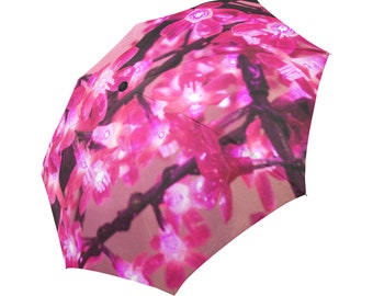 Garland Lights Umbrella Garland Umbrella Pink Umbrella Designed Umbrella Photo Umbrella Rainbow Umbrella Photo Umbrella Automatic Abstract