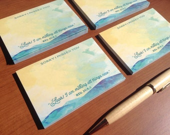Sticky Note Pad - jw gifts - jw pioneer gifts - jw ministry supplies - jw notebooks - happiertogive