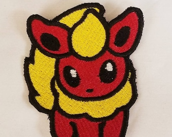 Flareon Embroidered Patch