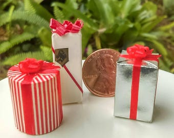 Dollhouse Miniature One Inch Scale 1:12 Gift Set